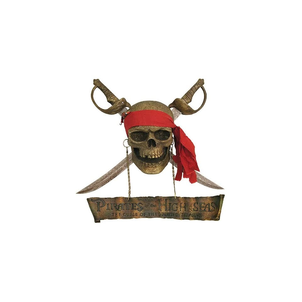 Jolly Roger Pirate Wall Display