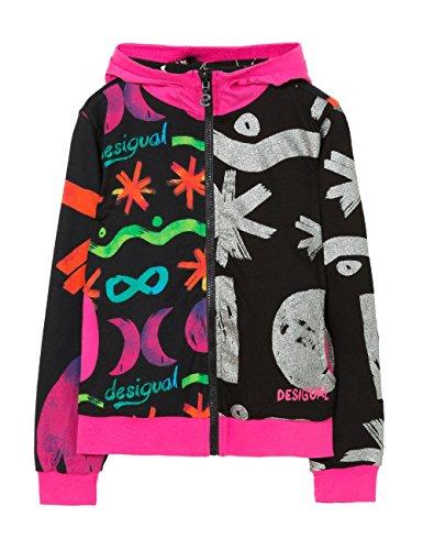 desigual-camus-sweat-shirt-fille-noir-negro-fr-9-ans-taille-fabricant-9-10