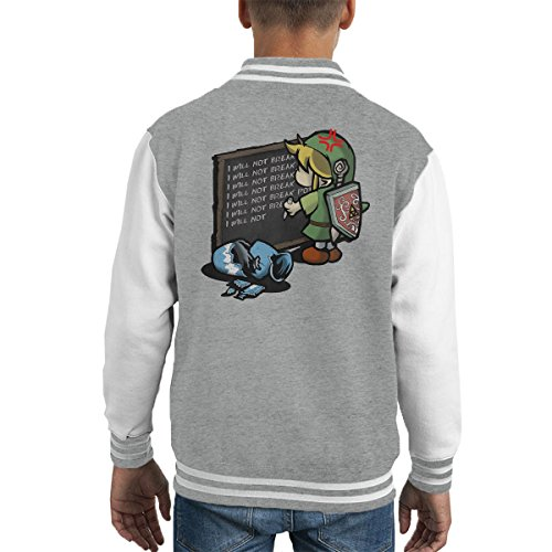 Hylian Detention Legend Of Zelda Kid's Varsity Jacket