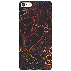 I Phone 5C black Phone Cover - Matte Finish Phone Cover