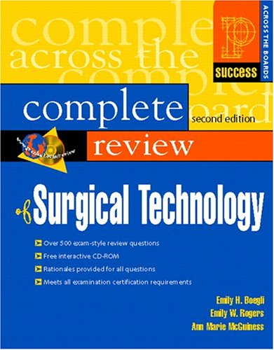 Prentice Hall's Complete Review of Surgical Technology...