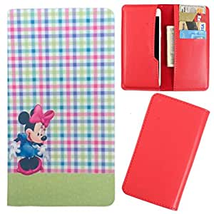 DooDa - For XOLO A550s IPS PU Leather Designer Fashionable Fancy Case Cover Pouch With Card & Cash Slots & Smooth Inner Velvet