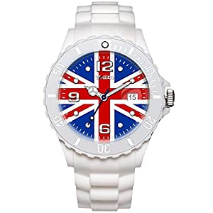 TIME100 Memorial National World Cup Classic Silicone Strap England Outdoor Sports Digital Watch #W40113M.05A