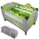 infantastic krb01grün Reisebett für Kinder