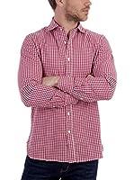 BLUE COAST YACHTING Camisa Hombre (Rojo)