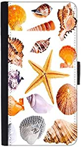 Snoogg 14 Mussels And Star Fish Studio Isolated On White Graphic Snap On Hard...