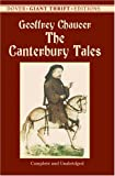 The Canterbury Tales (Dover Giant Thrift Editions) (0486431622) by Geoffrey Chaucer