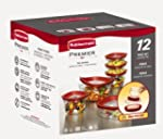 Rubbermaid 12-Piece New Premier Food...