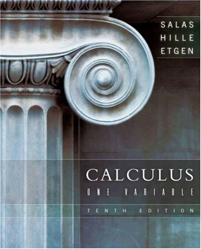 Calculus: One Variable