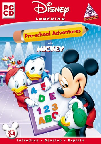 Disney Learning: Pre-school Adventures With Mickey
