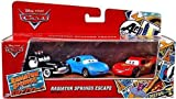 Disney Pixar Cars - Radiator Springs Escape Series 2013 - Lightning McQueen, Sally and Sheriff