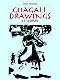 Chagall Drawings: 43 Works (Dover Art Library)