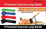 Home-Complete 4 Exercise Bands - Resi...
