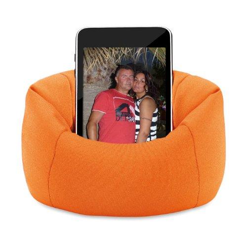 FLAUSCHIG ORANGE: Handyständer I-phone Sofa Smartphoneständer Handysessel Handyhalter als Sofa