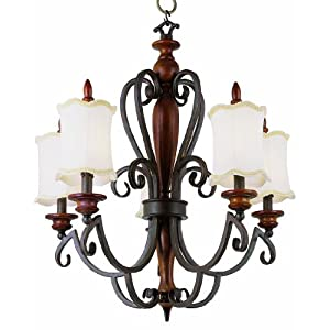 Wrought iron lights-chandelier lighting-Wrought iron lighting