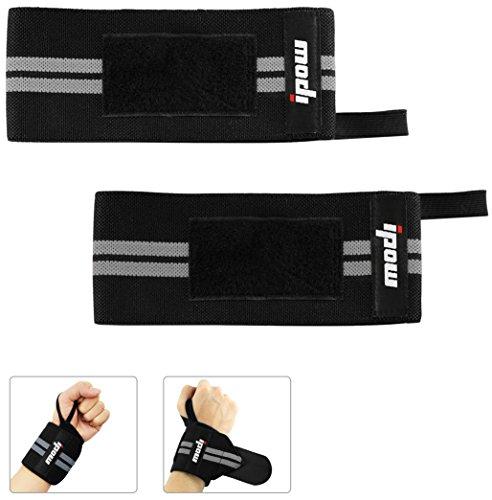 [ 2er Set ] Ipow Handgelenkbandage Handgelenkstütze Atmungsaktive Einstellbare handgelenk Unterstützung für Sport Fitness und krafttraining