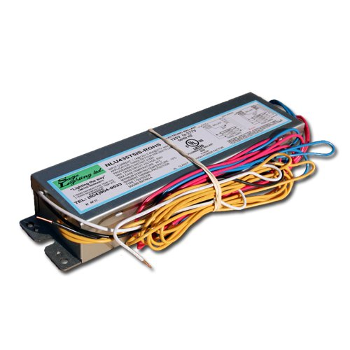 Sage Lighting Nu435T5Is Electronic Ballast For 3 To 4 F14T5 To F35T5 Fluorescent Lamps