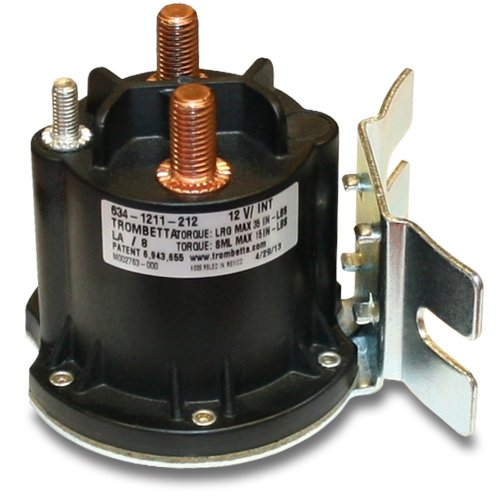 Trombetta 12 Volt PowerSeal DC Contactor Part No. 634-1211-212 (12v Coil Contactor compare prices)