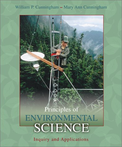 Principles of Environmental Science: Inquiry & Applications w/OLC Password Code Card