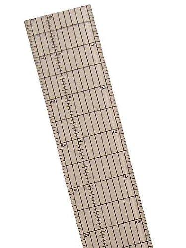 C-Thru Clear Plastic Grid Rulers 12 1/2 in.