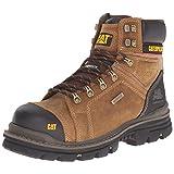 Caterpillar Men's Hauler 6 Inch Waterproof Comp Toe Work Boot, Dark Beige, 11.5 M US