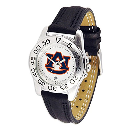 Auburn University Tigers Au Ncaa Womens Leather Wrist Watch