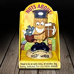 Nuts About Work Postal Worker Figurine
