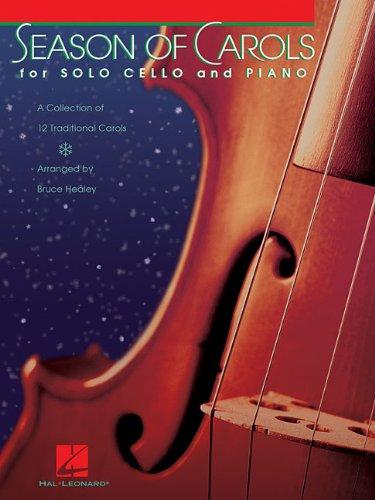 Season of Carols (Easy Solo for Cello and Piano)