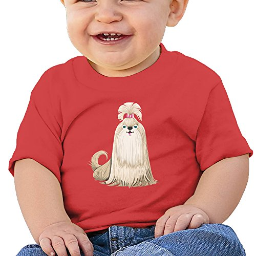 kking-cartoon-cute-maltese-dog-kids-athletic-t-shirt-red-24-months
