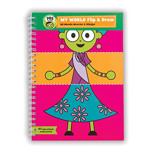 Mudpuppy PBS Kids My World Flip & Draw