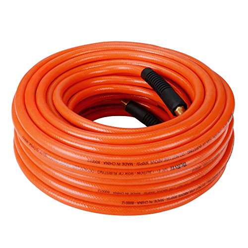 DuRyte 800012 Pro 300 PSI PVC Air Hose - 3/8-Inch by 100-Feet, 1/4-Inch MNPT Brass Ends (3 4 Compressed Air Hose compare prices)