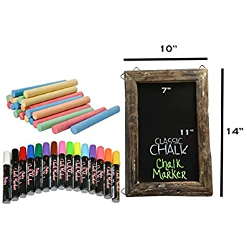 Vintage Rustic Farm Kitchen Chalkboard - Chalk or Marker - Door Wall Sign 10x14
