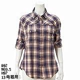 サブ ストリート マイスタンダード(大きいサイズ)(sab street my standard) 『Jachs Girlfriend』のチェックシャツ