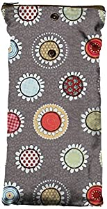 Planet Wise Wipe Pouch, Funky Flowers