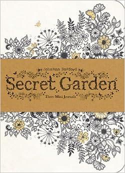 Secret Garden Three Mini Journals Johanna Basford 9781856699488 Amazon Books