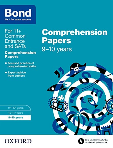Bond 11+: English: Comprehension Papers: 9-10 years