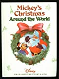 Mickey's Christmas Around the World Pop Up Book and Cassettes