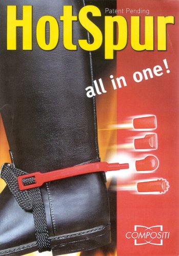 5-1-Hot-Spurs-Kunststoff-Sporen-Sporen-Kunststoff-Hot-Spurs