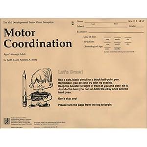 Motor coordination test 25 pk vmi series the beery for Beery vmi motor coordination