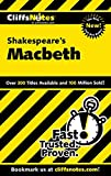 CliffsNotes on Shakespeares Macbeth (Cliffsnotes Literature)