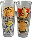 "Family Guy ""In The Nude"" Collectors Series Pint Glass Collection"