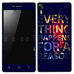 Theskinmantra Reason SKIN/STICKER for Lenovo Vibe Shot