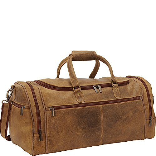 le-donne-leather-distressed-leather-overnighter-duffel-tan