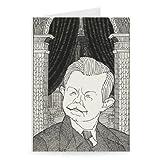 'John Robert Clynes, statesman' - GruÃ?karten (2er Packung) - 17,8x12,7 cm - StandardgröÃ?e - Packung mit 2 Karten...