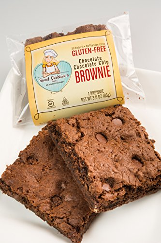 24 Individually Wrapped Gluten-free Brownies - CASE SIZE