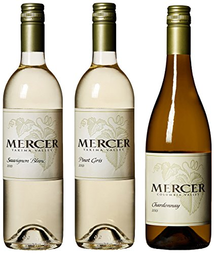 "Mercer Estates ""White Christmas"" Mixed Pack, 3 X 750 Ml"