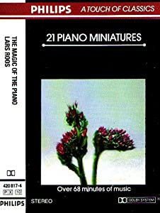 Lars Roos plays 21 Piano Miniatures (Philips)