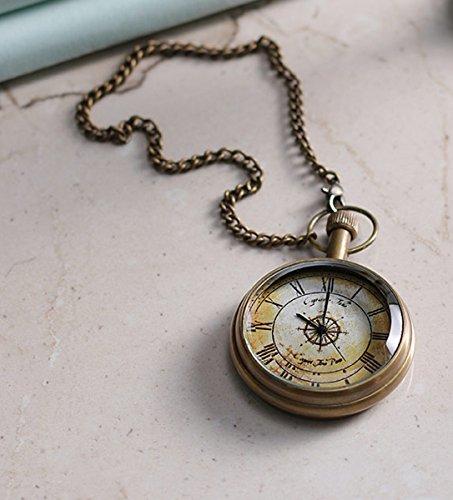 Unisexe-cas-antique-cru-laiton-rib-chane-quartz-montre-de-poche-pour-hommes-femmes-46-cm