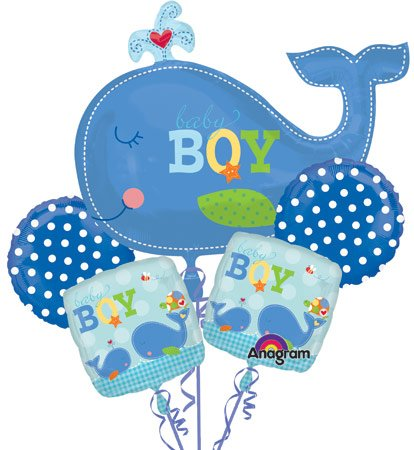 new baby baby shower balloons decorations