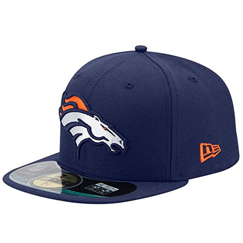 New Era NFL On Field Denver Broncos Cap 59fifty Basic Fitted Basecap Herren Mens